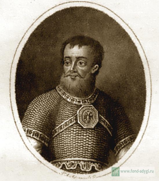 Черкасский (князь Яков Куденетович, умер в 1667 г.)